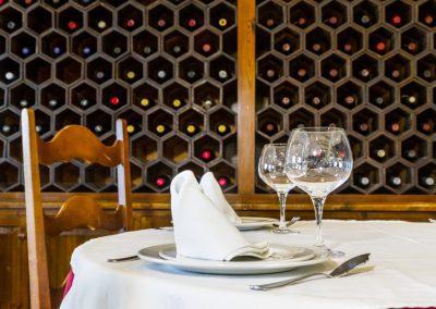 Mesa en el Restaurante Casa Bigote